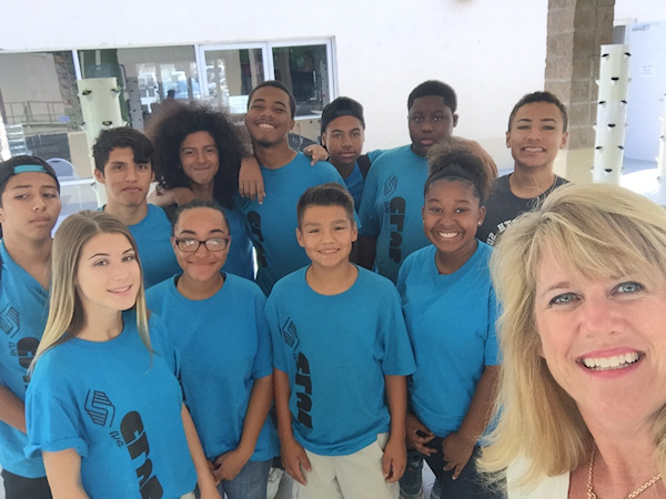 Beth Misner with Boys and Girls Club 2