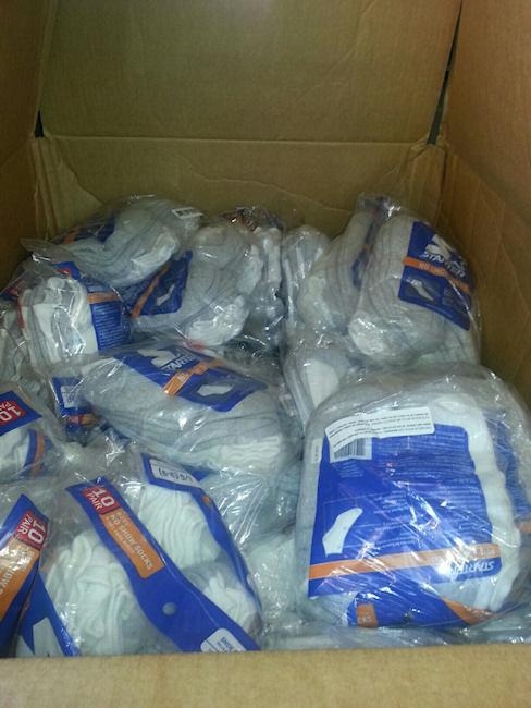 Austin Independent School District Sock Donation