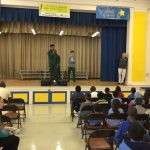 Peck Elementary's NBA Never Been Absent program