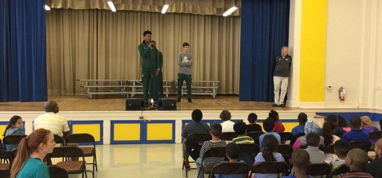 Peck Elementary's NBA Never Been Absent program