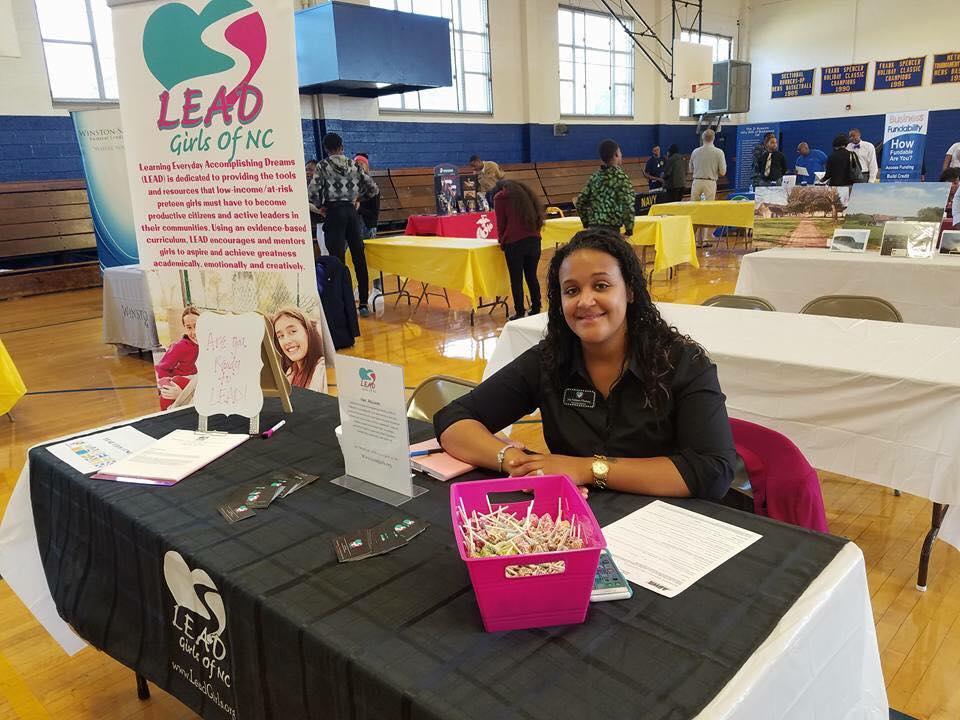Joy Nelson of LEAD Girls of NC