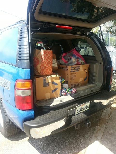Austin Independent School District Sock Load